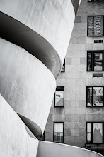 Photo: Another one for #windowwednesday curated by +Cheryl Cooper+Jason Kowing+J.J. Bentley+Catherine Furet and +Jules Falk Hunter. I liked the contrast of the smoothness of the Guggenheim Museum in New York with the building next door. I also liked the different reflections in each of the windows.  #BreakfastClub curated by +Gemma Costa