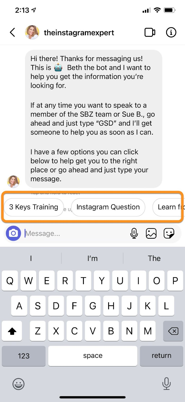 how to use Instagram Reels: ask viewers to DM you with a keyword