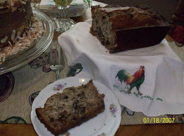 Smith House Banana Date Bread Recipe