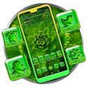 Green Leafed Plant Theme icon