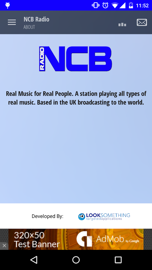 NCB Radio- screenshot