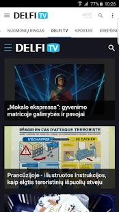 Delfi.lt - náhled