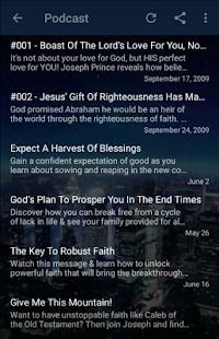 Joseph Prince - audio and podcast for PC-Windows 7,8,10 and Mac apk screenshot 3