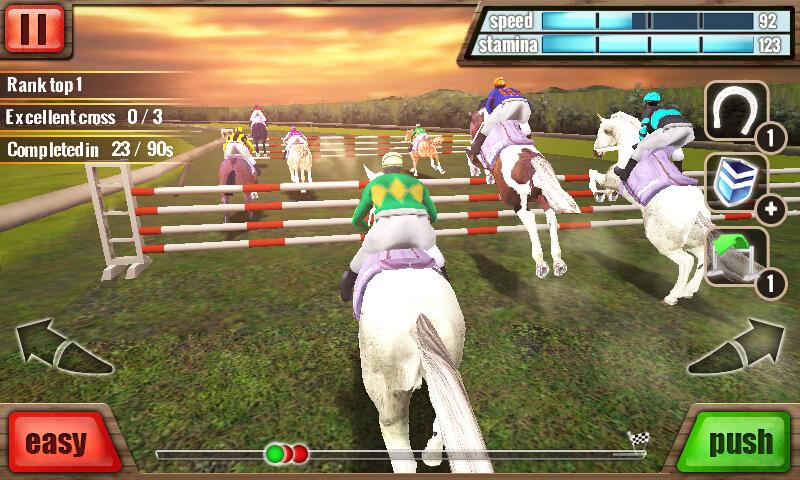 Horse Racing 3D- screenshot