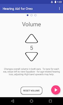 Super Hearing Oreo 8.0 (Amplifier Equalizer PSAP) screenshot 1