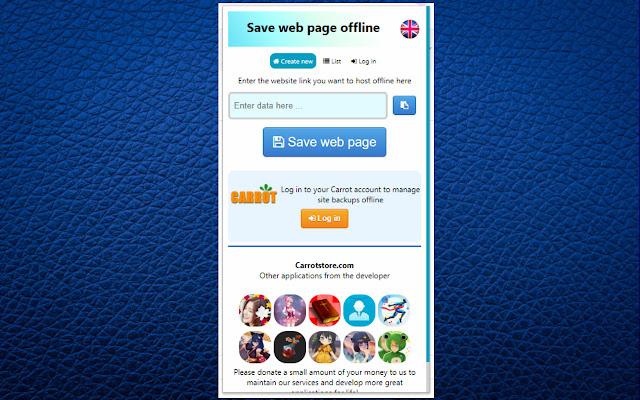 Save Web offline
