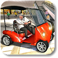 Shopping Mall Taxi Driver Game 2018