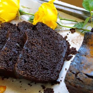 Healthy, Indulgent Deep-Dark Chocolate Apple Loaf.