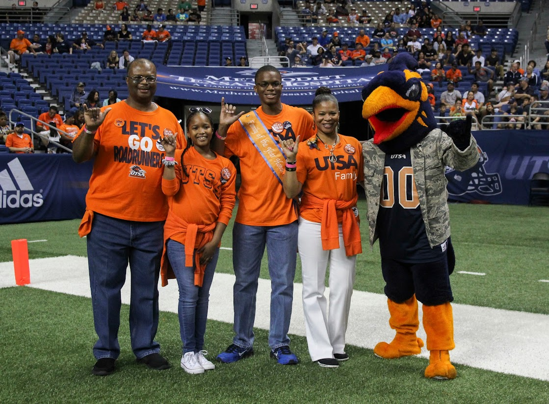 UTSA Family Weekend Game Day 2016