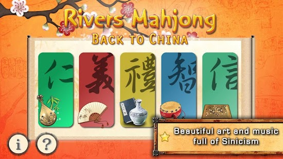 Rivers Mahjong: Back to China- screenshot thumbnail