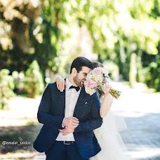 Wedding photographer Amalat Saidov (Amalat05). Photo of 23.08.2017