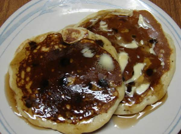 Banana Chocolate Chip Pancakes! Recipe