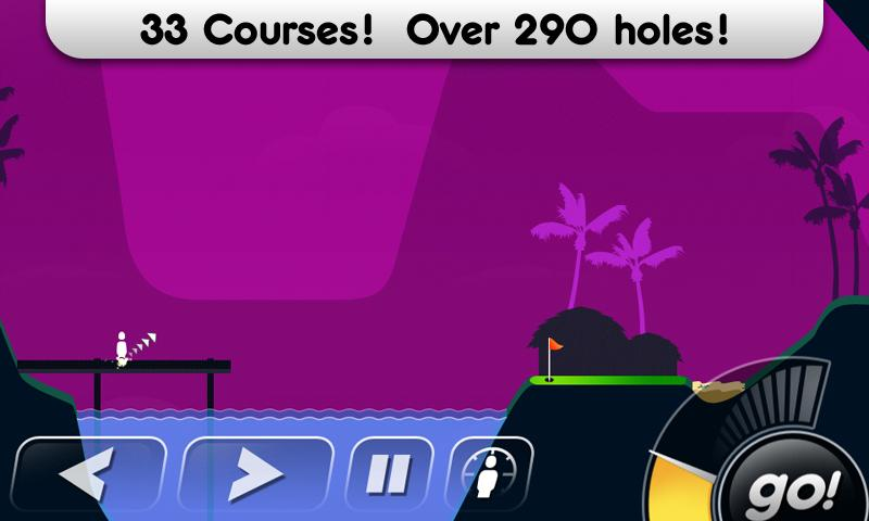 Скриншот Super Stickman Golf