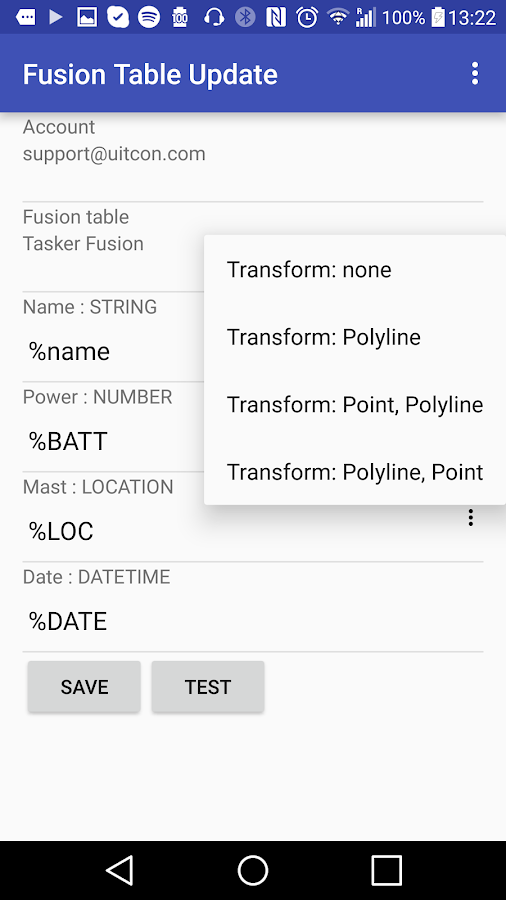 Fusion Tasker Plugin- screenshot