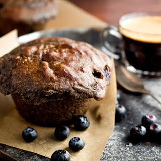 Gluten-Free Buckwheat, Poppy Seed and Blueberry Muffins