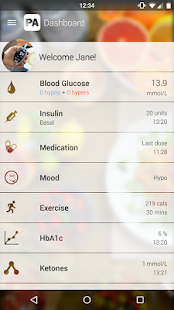 Diabetes PA (Diabetes Manager)- screenshot thumbnail