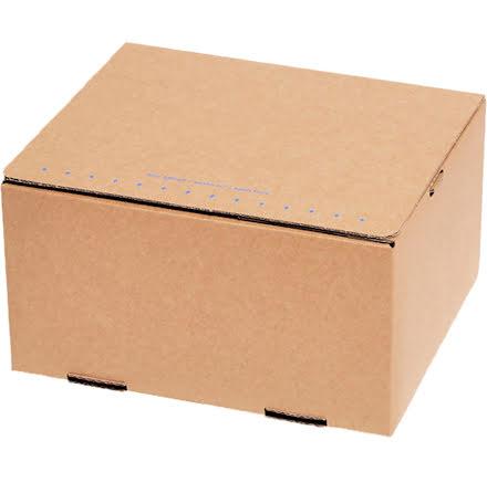 Packfix 230x160x80mm brun