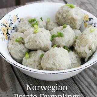 Norwegian Potato Dumplings (Potato Klub).