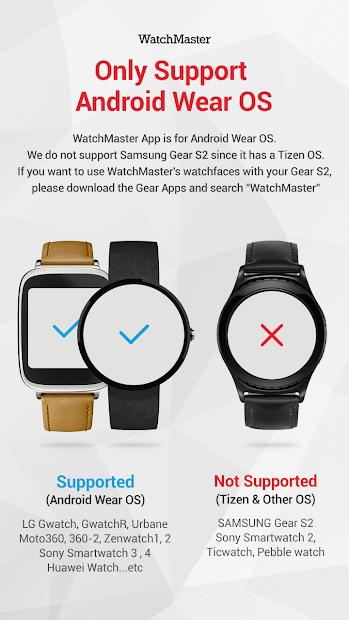 Mirage watchface by Monostone Android App Screenshot