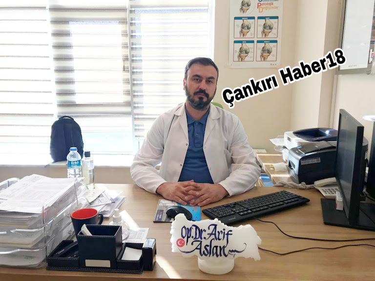 Çankırı Devlet Hastanesi,Çankırı Devlet Hastanesi Başhekimliği,Başhekim Arif Aslan,