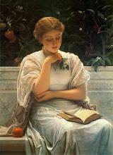 "Photo: Charles Edward Perugini, ""Ragazza che legge"" (1878)"