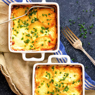 Au Gratin Potatoes for Two.