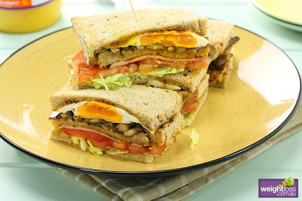 Breakfast Club Sandwich Recipe