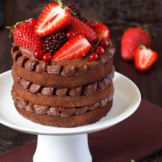 The Only Valentine's Day Chocolate Cake You'll Ever Need