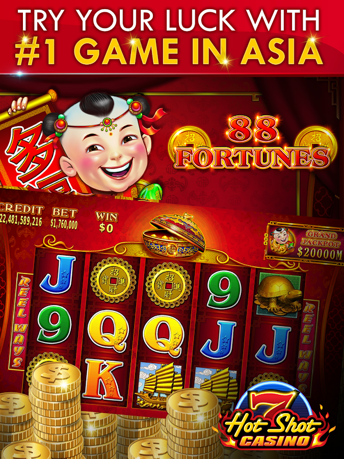 hot shot casino slot app