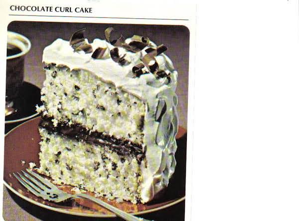 Chocolate Curl Cake Recipe