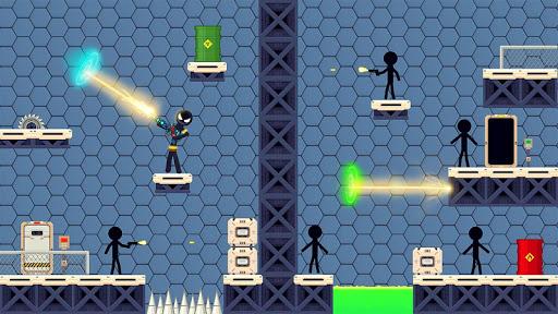 Stickman Shooting: Free offline 2D shooting games  screenshots 5