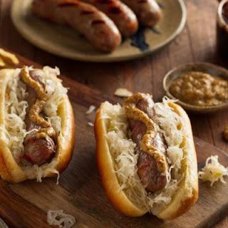 Garlicky Beer-Boiled Bratwurst Recipe
