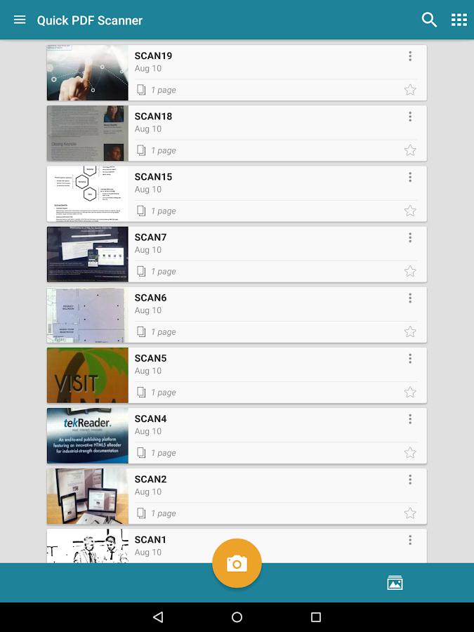 Quick PDF Scanner FREE- screenshot