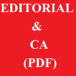 Daily Editorial & Current Affairs PDF (The Hindu) icon