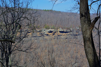 Photo: Hawksbill Crag from across the valley