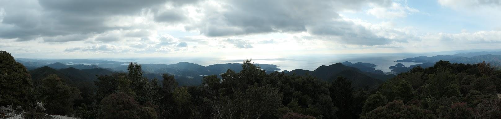 道方山からのパノラマ