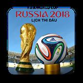 Tải Lịch thi đấu World Cup 2018 miễn phí