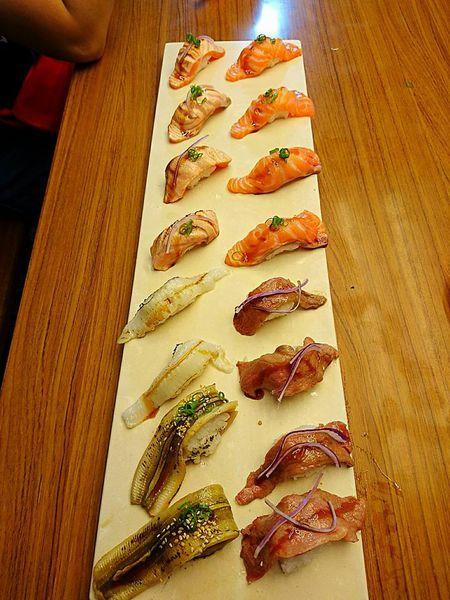 東港黑鮪魚季 之 漁郎生魚片