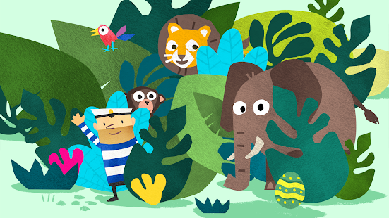Fiete Hide and Seek - Peek a boo Animal Kids App- screenshot thumbnail