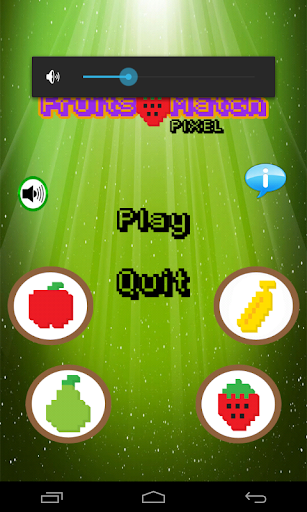 Fruits Match Pixel
