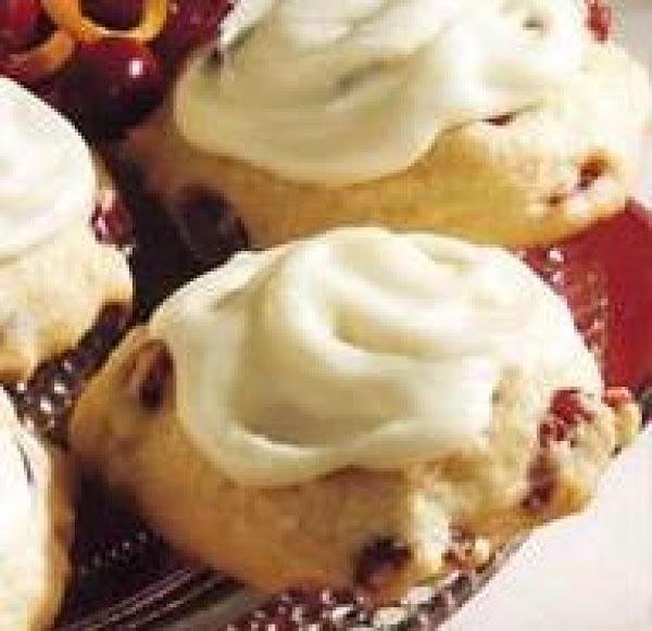 Orange Iced Cranberry Cookies Recipe
