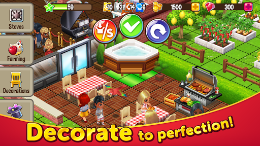 Food Street - Restaurant Management & Food Game 0.50.8 screenshots 3