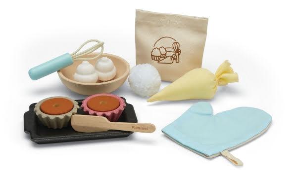 PlanToys Cupcake set