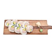 97. Cooked Tuna & Avocado Sushi Roll