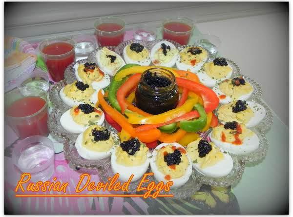 Russian Deviled Eggs Recipe