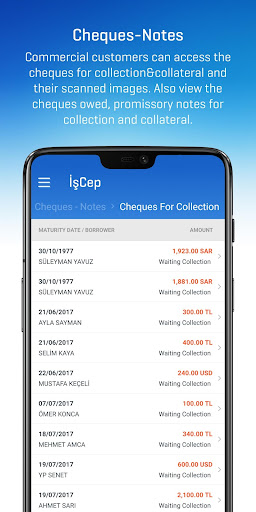 İşCep - Mobile Banking screenshot 3
