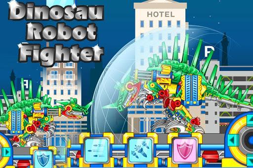 Dinosaur Robot Fighter