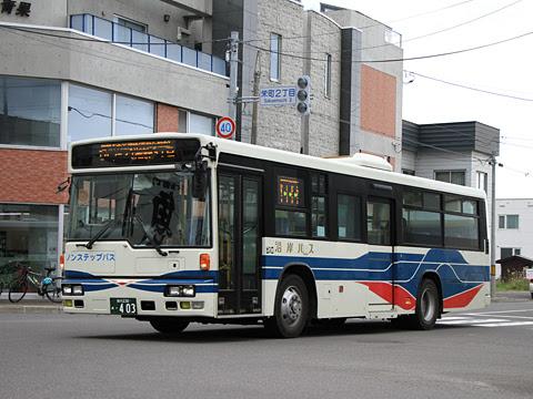 沿岸バス「留萌市内近郊線Aコース」  ・403