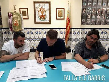 Fernando López y Santaeulalia Tematizaciones Artistas falleros 2019 de Els Barris de Turis