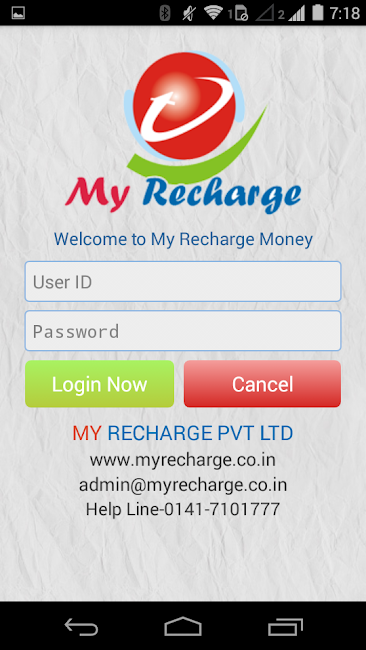 #2. MyRecharge Money (Android)